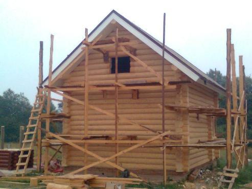 Готовые срубы домов в Беларуси